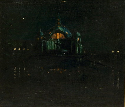 Festival Hall Nocturne, PPIE 1915